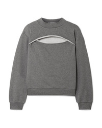 Sweat-shirt gris T by Alexander Wang