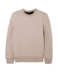 Sweat-shirt gris Unravel Project