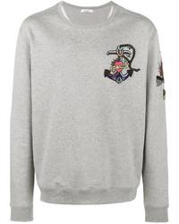 Sweat-shirt gris Valentino