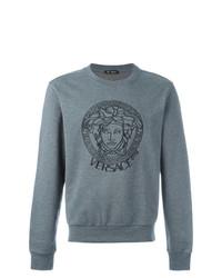 Sweat-shirt gris Versace