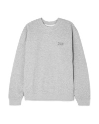 Sweat-shirt gris YEAH RIGHT NYC