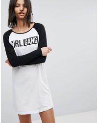 Sweat-shirt imprimé blanc et noir Noisy May