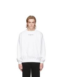 Sweat-shirt imprimé blanc et noir Ottolinger
