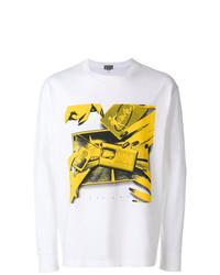 Sweat-shirt imprimé blanc Cav Empt