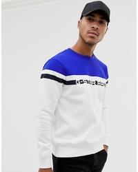 Sweat-shirt imprimé blanc G Star