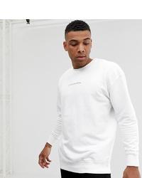 Sweat-shirt imprimé blanc Good For Nothing