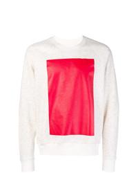 Sweat-shirt imprimé blanc Ioana Ciolacu