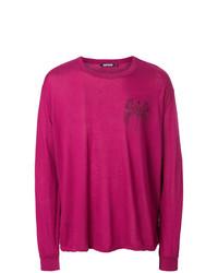 Sweat-shirt imprimé fuchsia Adaptation