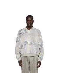 Sweat-shirt imprimé gris Fear Of God