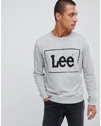 Sweat-shirt imprimé gris Lee