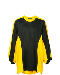 Sweat-shirt imprimé jaune Y/Project