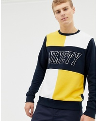 Sweat-shirt imprimé multicolore Burton Menswear