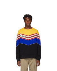 Sweat-shirt imprimé multicolore Gucci