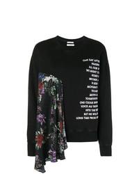 Sweat-shirt imprimé noir et blanc EACH X OTHER