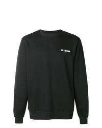 Sweat-shirt imprimé noir et blanc Han Kjobenhavn