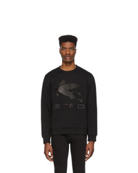 Sweat-shirt imprimé noir Etro