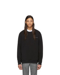 Sweat-shirt imprimé noir Givenchy