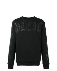 Sweat-shirt imprimé noir Philipp Plein