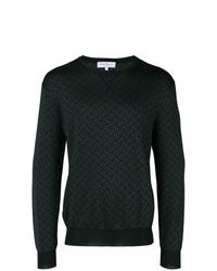 Sweat-shirt imprimé noir Salvatore Ferragamo