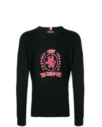 Sweat-shirt imprimé noir Tommy Hilfiger