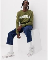 Sweat-shirt imprimé olive Penfield