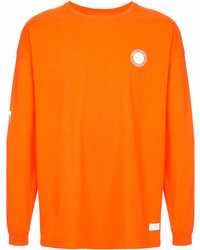 Sweat-shirt imprimé orange Stampd