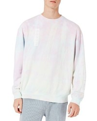 Sweat-shirt imprimé rose