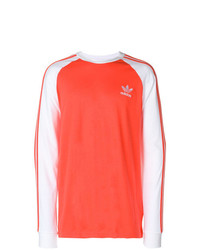 Sweat-shirt imprimé rouge adidas