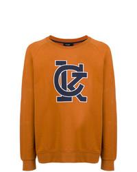 Sweat-shirt imprimé tabac Calvin Klein 205W39nyc