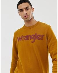 Sweat-shirt imprimé tabac Wrangler