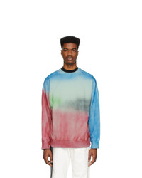 Sweat-shirt imprimé tie-dye multicolore N. Hoolywood