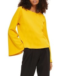 Sweat-shirt jaune