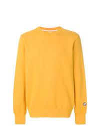 Sweat-shirt jaune Doppiaa