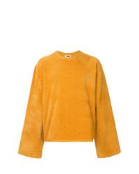 Sweat-shirt jaune H Beauty&Youth