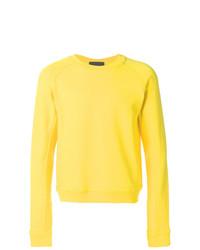 Sweat-shirt jaune Haider Ackermann