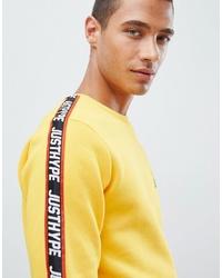 Sweat-shirt jaune Hype