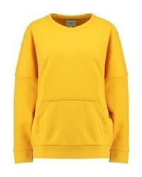 Sweat-shirt jaune Only