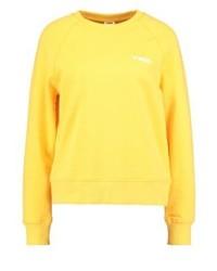 Sweat-shirt jaune Vero Moda
