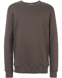 Sweat-shirt marron