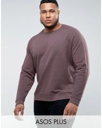 Sweat-shirt marron Asos