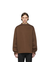 Sweat-shirt marron Maison Margiela