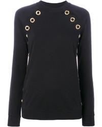 Sweat-shirt noir Balmain