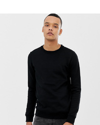 Sweat-shirt noir Burton Menswear