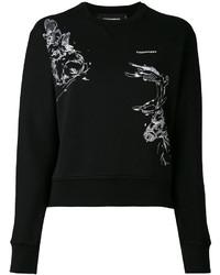 Sweat-shirt noir Dsquared2