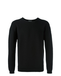 Sweat-shirt noir Emporio Armani