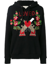 Sweat-shirt noir Gucci