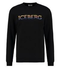 Sweat-shirt noir Iceberg