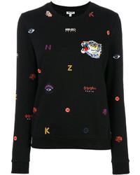 Sweat-shirt noir Kenzo