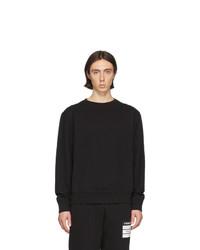 Sweat-shirt noir Maison Margiela