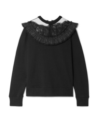 Sweat-shirt noir Marc Jacobs